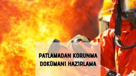 Patlamadan Korunma Dokümanı Hazırlama
